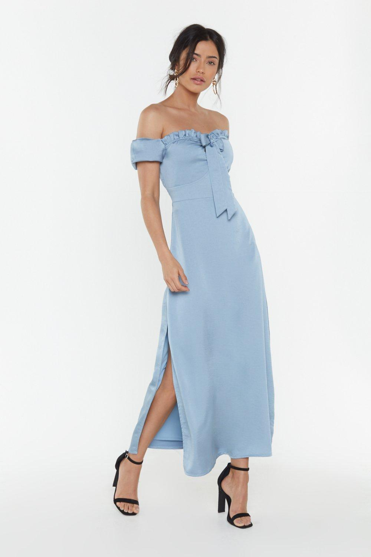 5476be139019 Don't Catch the Bouquet Off-the-Shoulder Midi Dress | Shop Clothes ...