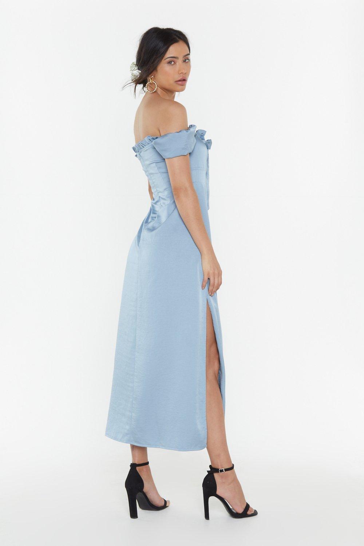 b256d00b4537 Don't Catch the Bouquet Off-the-Shoulder Midi Dress | Shop Clothes ...