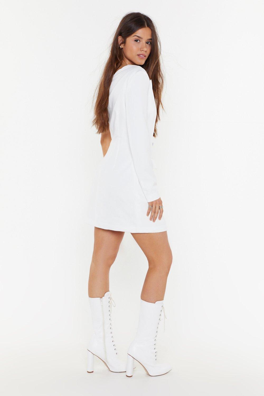 84004cc4ca0d One Shoulder Blazer Dress | Shop Clothes at Nasty Gal!