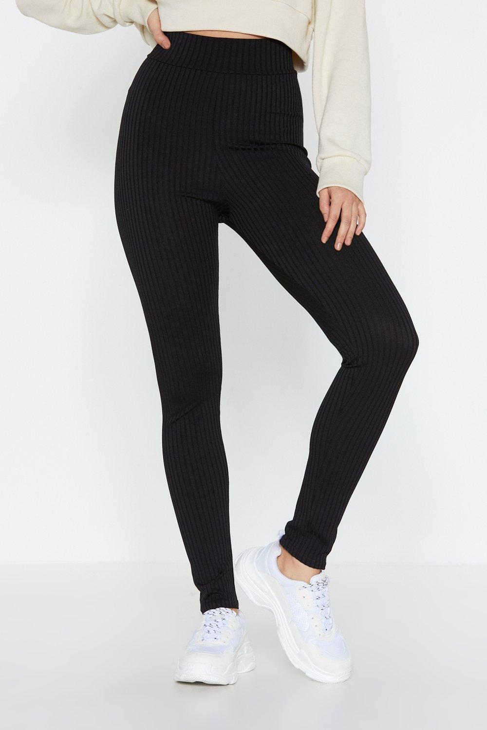 c3f92a8d9ae843 Ribbed High Waisted Leggings | Shop Clothes at Nasty Gal!