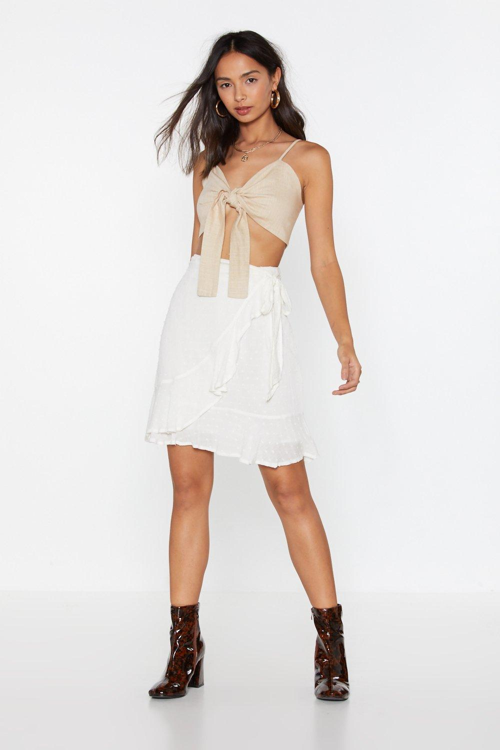 0ef8780b139c Girl Can Wrap Mini Skirt | Shop Clothes at Nasty Gal!