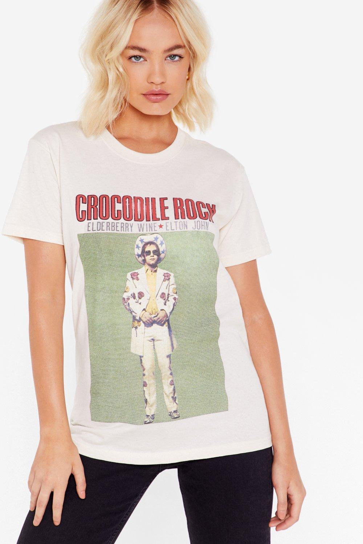 7d2d6ec64 Crocodile Rock Elton John Graphic Tee   Shop Clothes at Nasty Gal!
