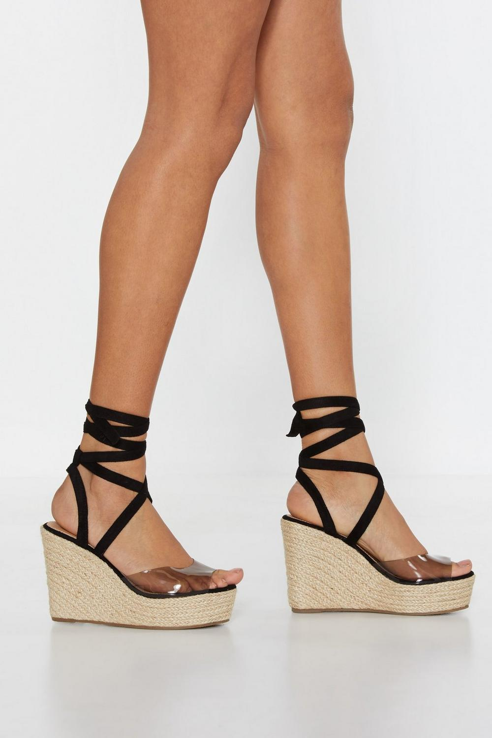 37faa14b192 Going Round in Ankles Espadrille Wedges | Shop Clothes at Nasty Gal!