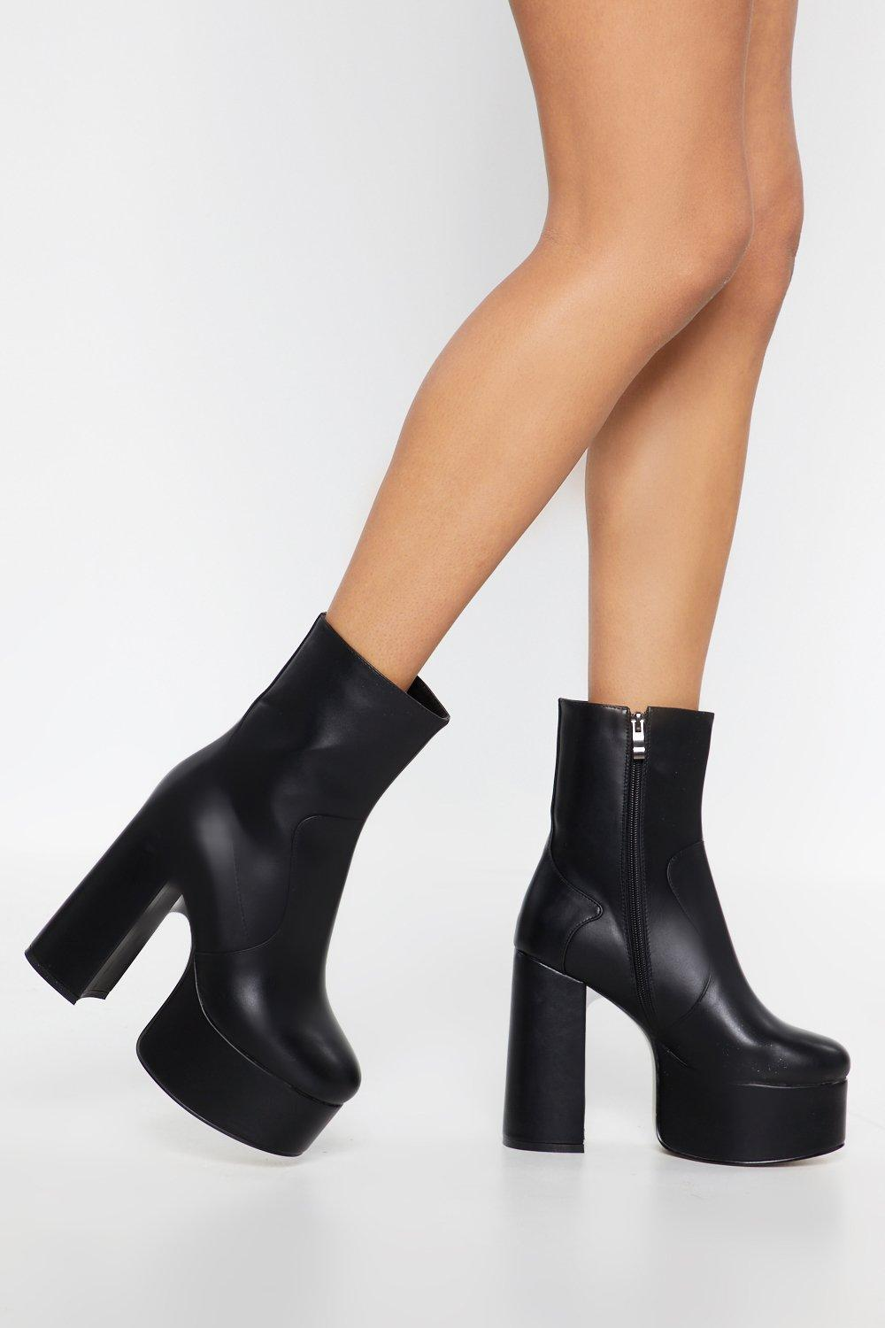 99e7dcf8d33ad Platform Your Opinion Sock Boots | Shop Clothes at Nasty Gal!
