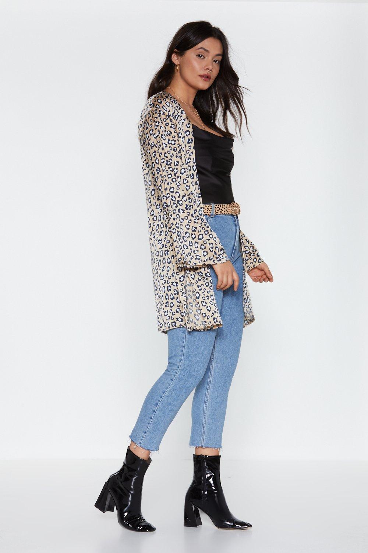 6a92a9e1db53 Roar Longline Leopard Kimono | Shop Clothes at Nasty Gal!