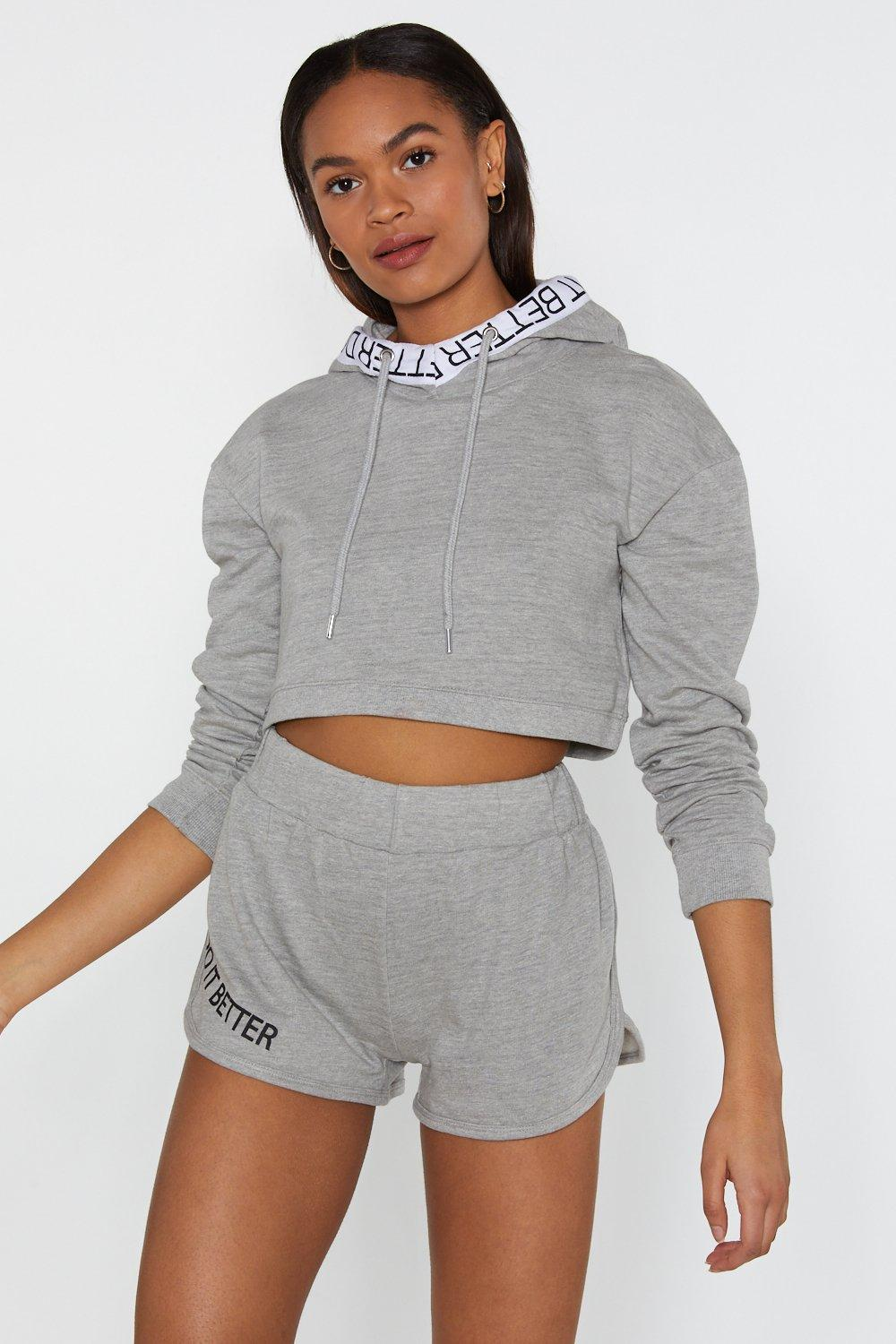 635c299ed49 Do It Better Cropped Hoodie   Shop Clothes at Nasty Gal!