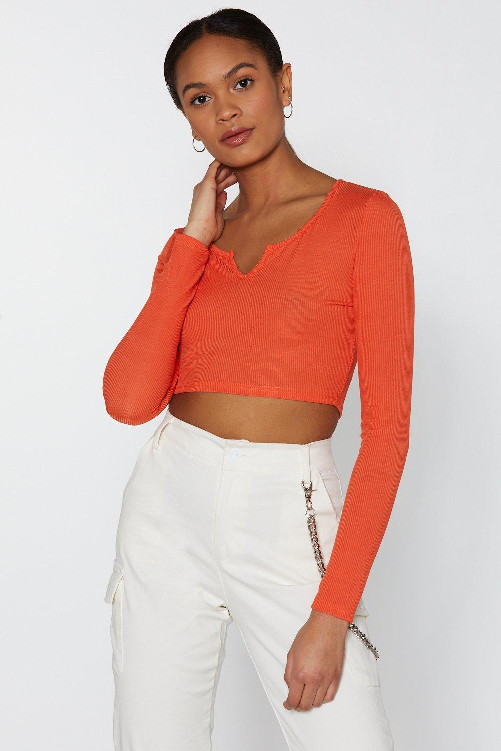 f8303fee2e8 Notch Your Problem Ribbed Crop Top | Shop Clothes at Nasty Gal!