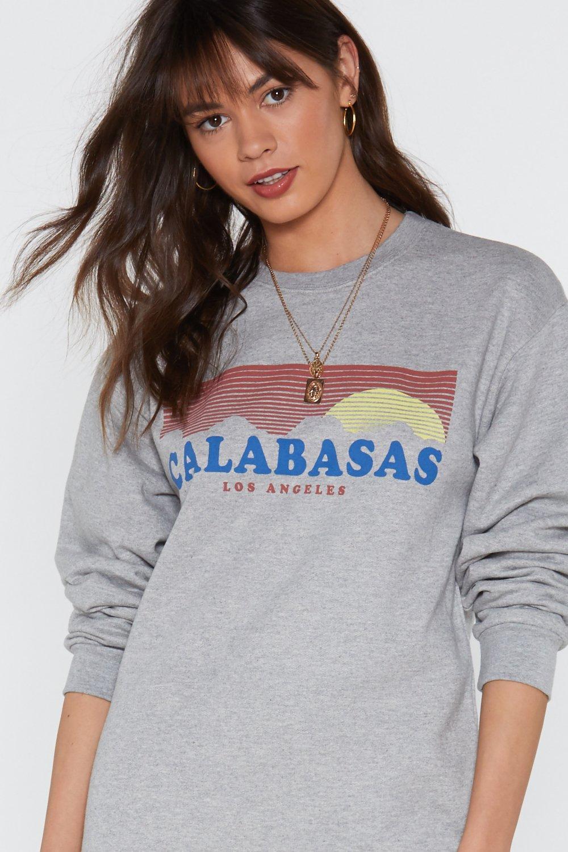ebffa944166f Calabasas Graphic Sweatshirt Dress   Shop Clothes at Nasty Gal!