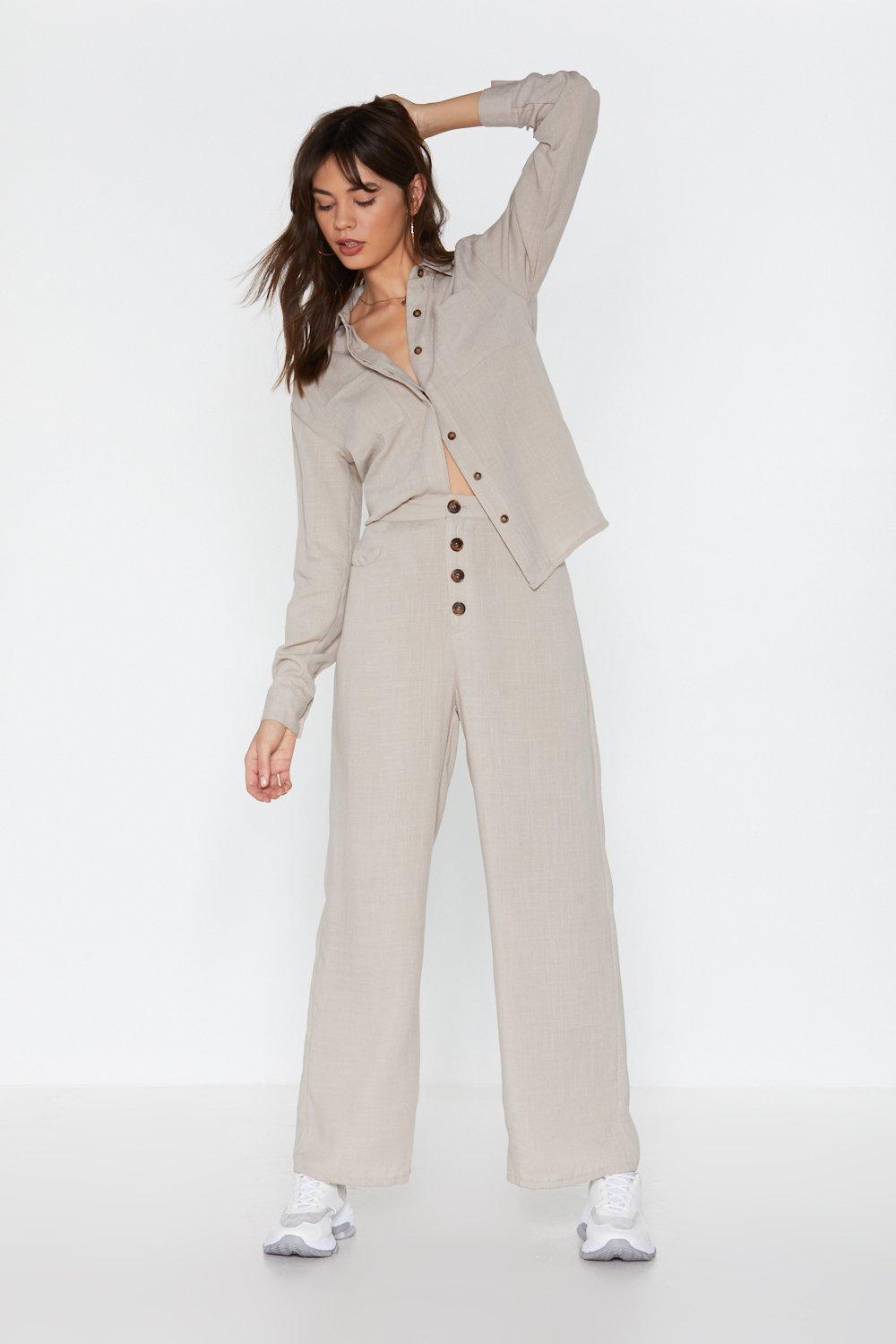 0092db7e2 Cut Down to Oversize Linen Shirt | Shop Clothes at Nasty Gal!