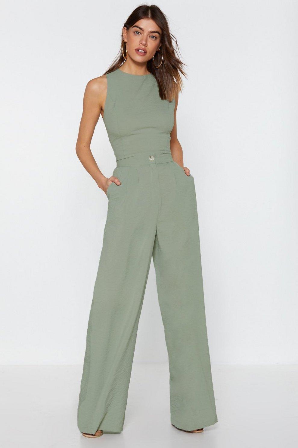3e0750f8e9 Wide Leg High Waisted Pants