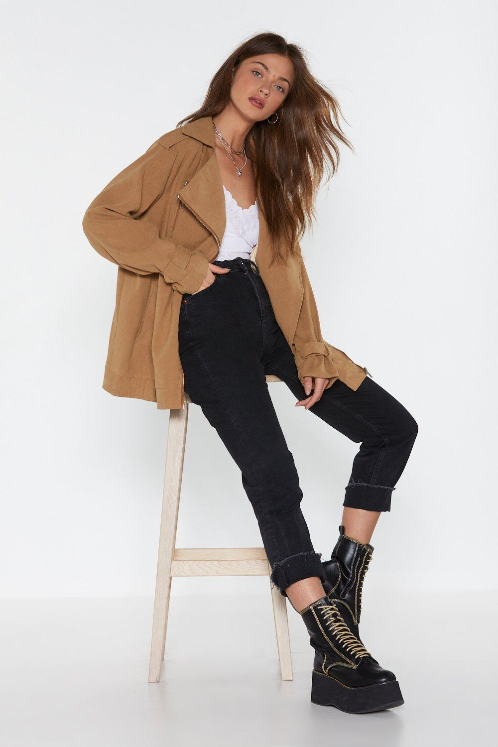 a68aa2907baa43 How Are Things With Utility Oversized Jacket | Shop Clothes at Nasty ...