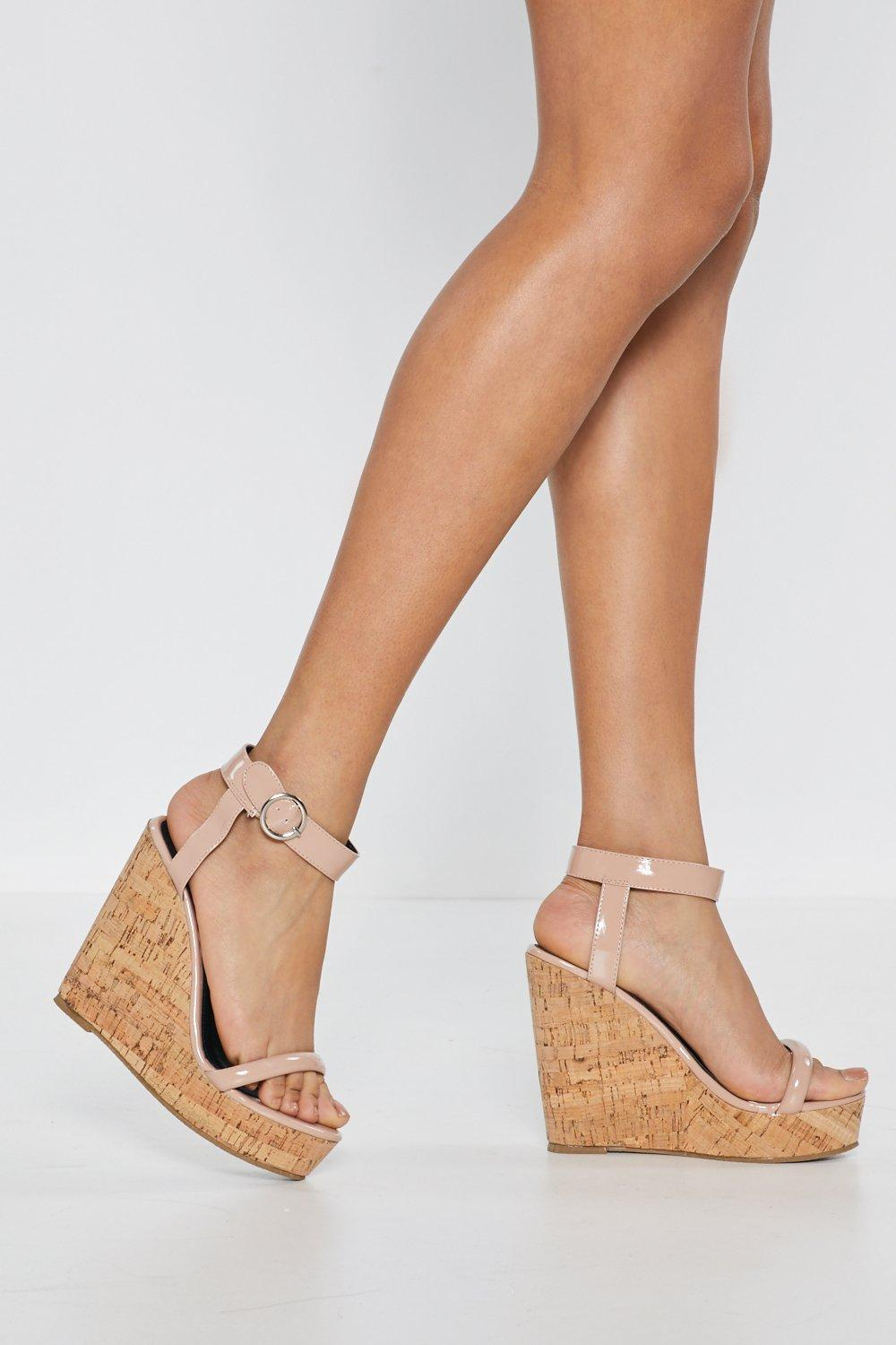 253218f57e86 Lift Off Cork Wedges