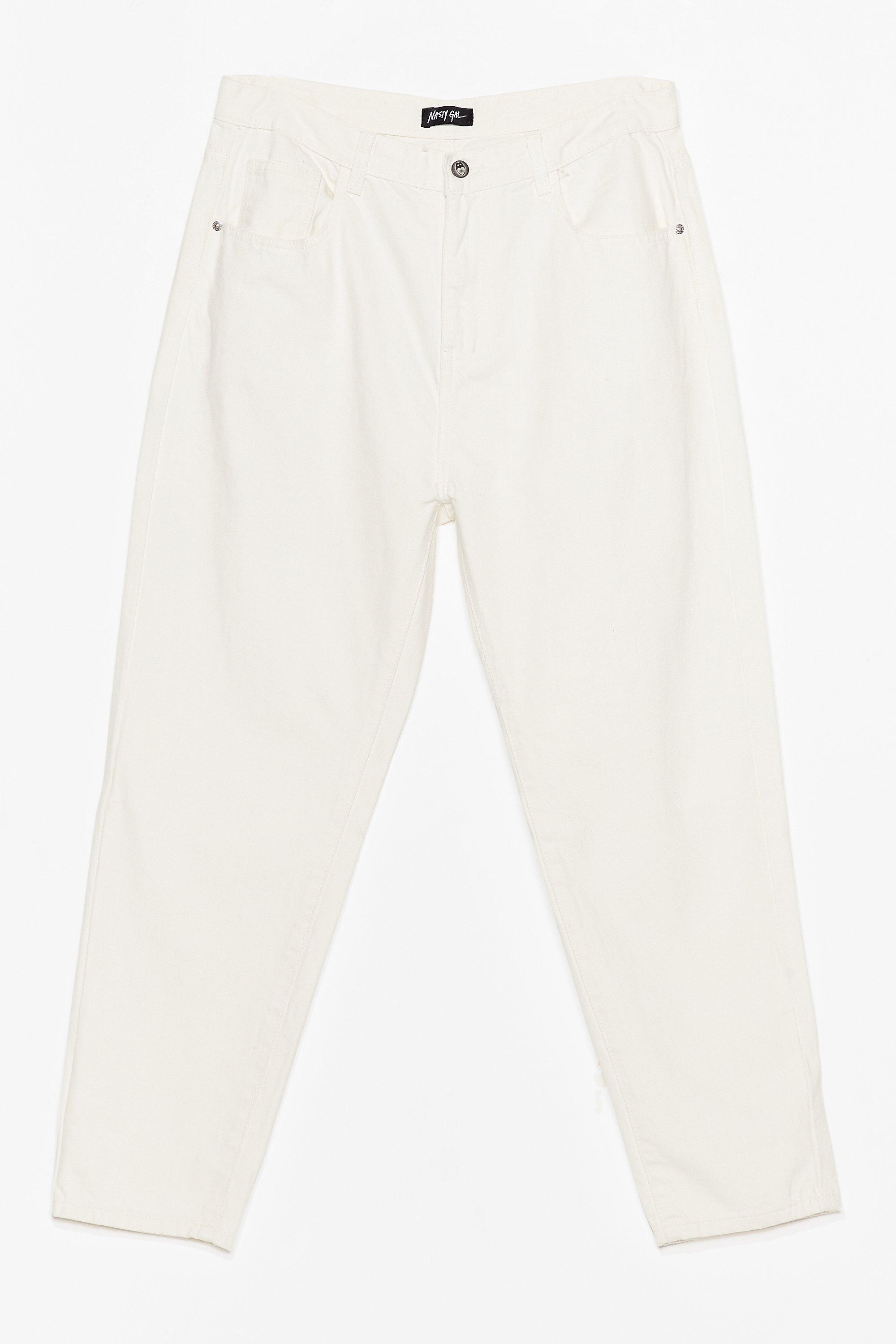 Debbie High Waisted Mom Jeans by Nasty Gal