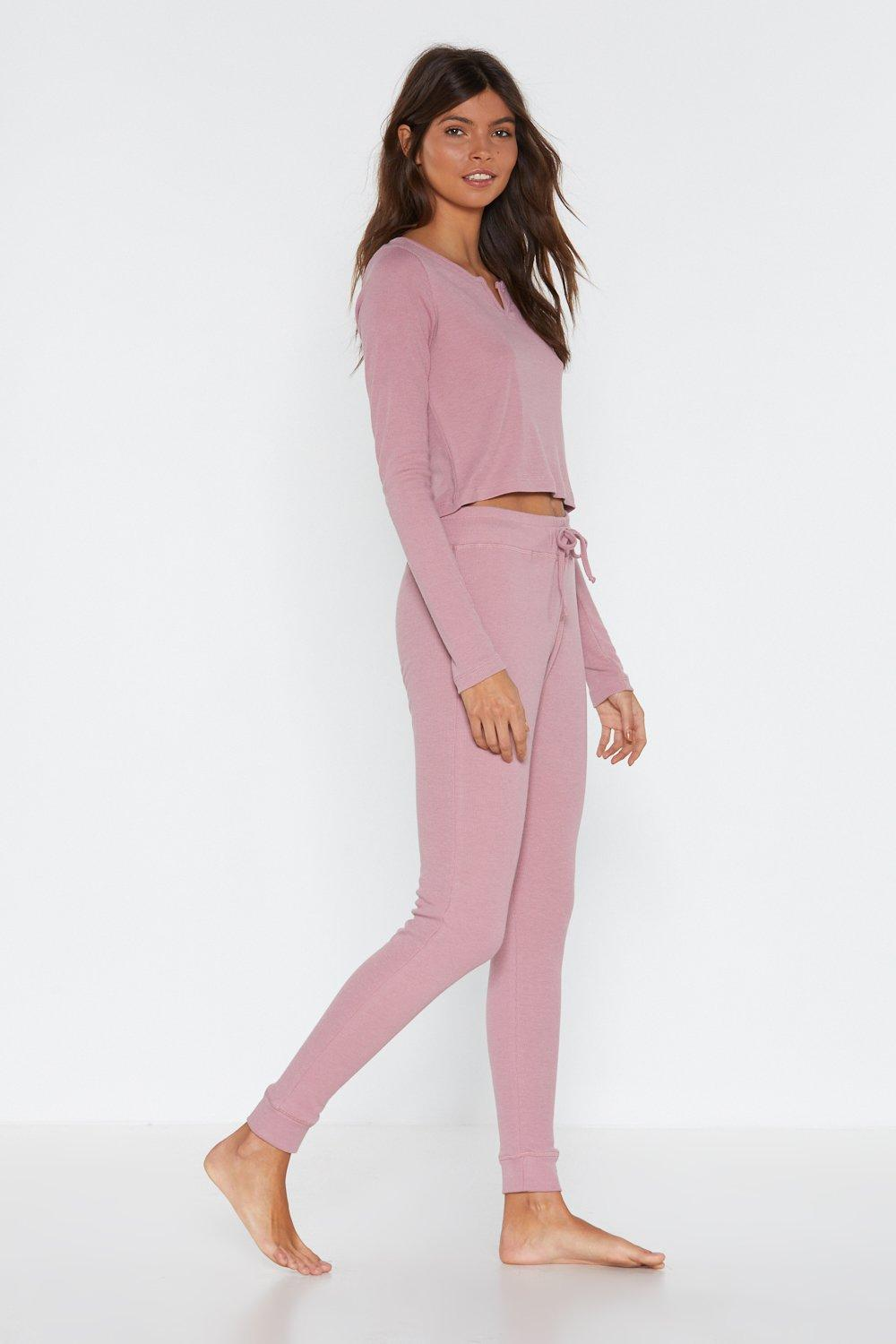 ed5913a1fbb40 V That Top and Joggers Lounge Set | Shop Clothes at Nasty Gal!