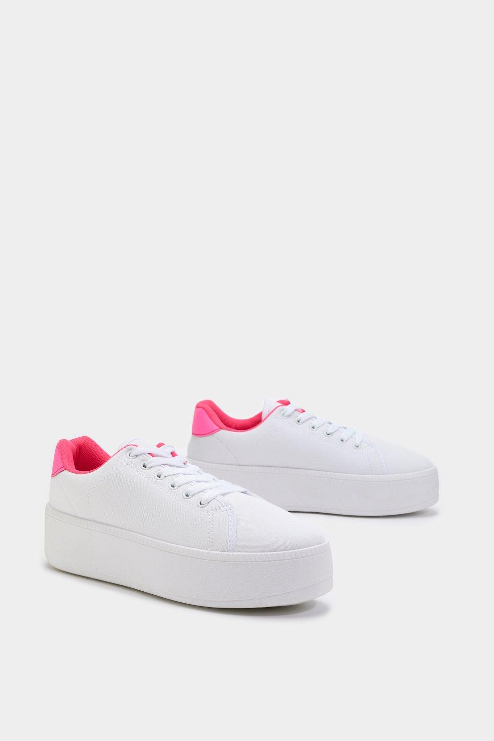 f3d584b6629 Rise Up Neon Platform Sneakers | Shop Clothes at Nasty Gal!