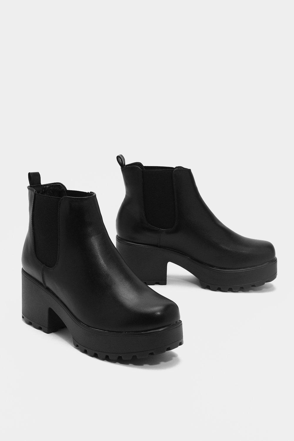 faeb6a079c8e7 Roll With It Platform Ankle Boot | Shop Clothes at Nasty Gal!