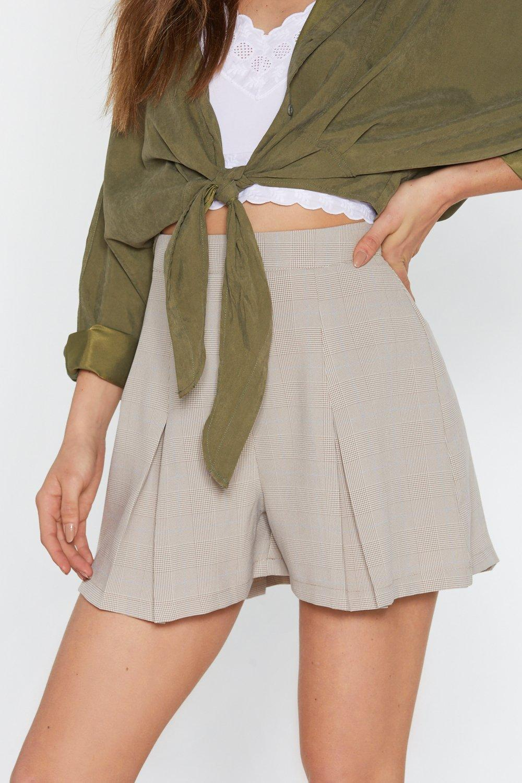 5b0b0ee4f6f4ef Jupe-short à carreaux J'ai Fini Par Prendre Le Pli   Shop Clothes at ...