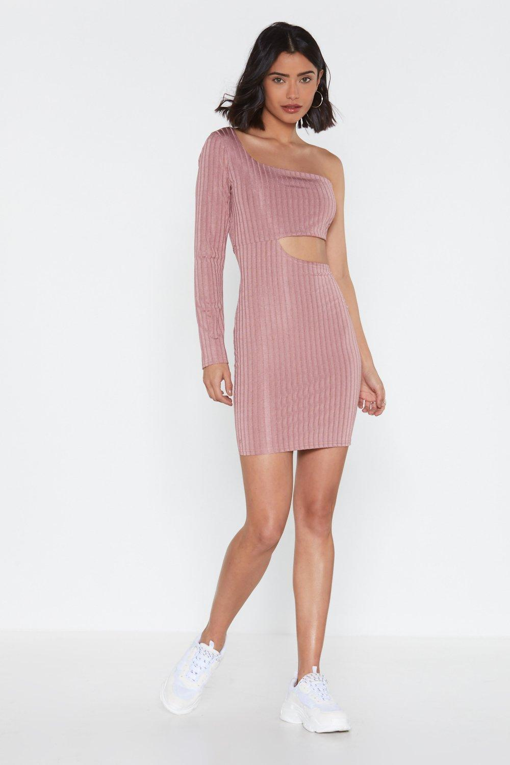 a1ef27c9046 Love on the Side Cut-Out One Shoulder Dress | Shop Clothes at Nasty Gal!