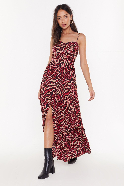 Tiger Print Maxi Dress | Shop Clothes at Nasty Gal!