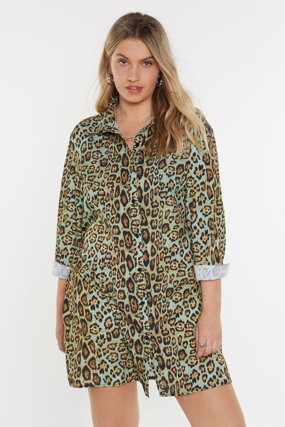 a2425e119592b Tail All Leopard Shirt Dress | Shop Clothes at Nasty Gal!