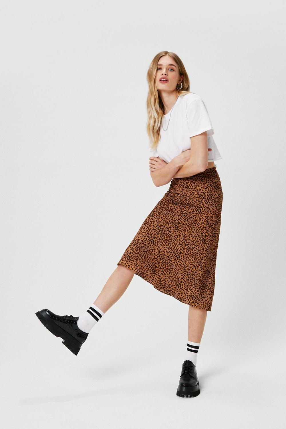 ad2b8c6750 Claw-t in the Act Satin Midi Skirt | Shop Clothes at Nasty Gal!