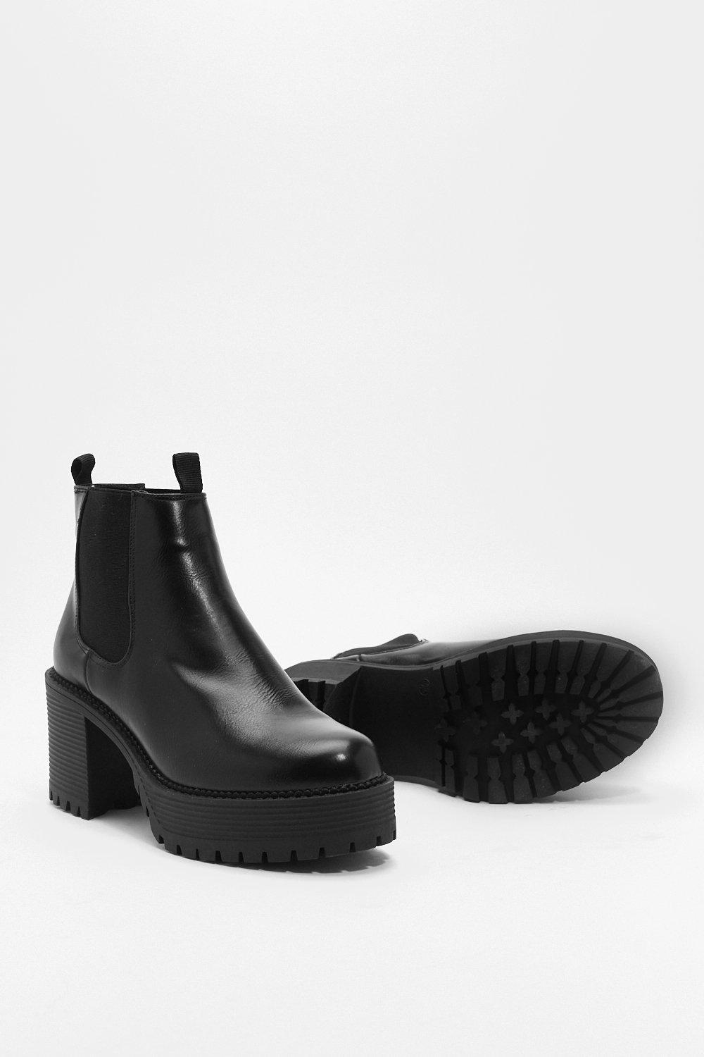 8250710196c Aim High Platform Chelsea Boots | Shop Clothes at Nasty Gal!
