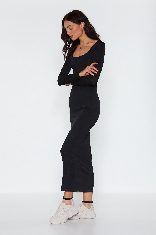 7eb0380004 Love You Long Time Ribbed Maxi Dress | Shop Clothes at Nasty Gal!
