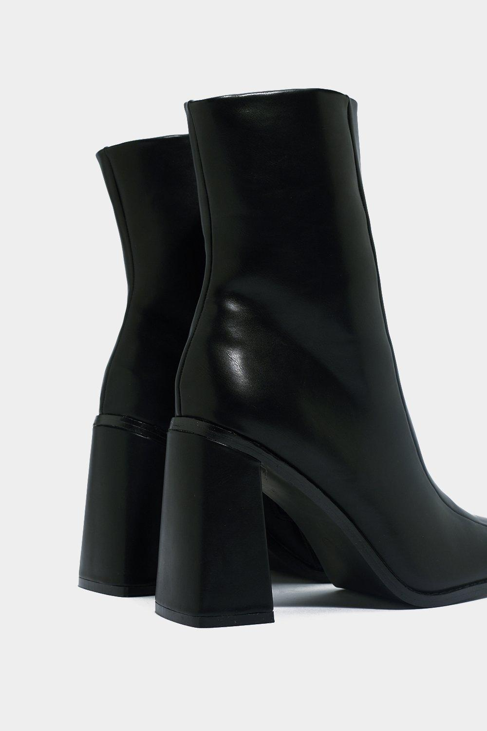33d4497843103 Square Up Sock Boot | Shop Clothes at Nasty Gal!