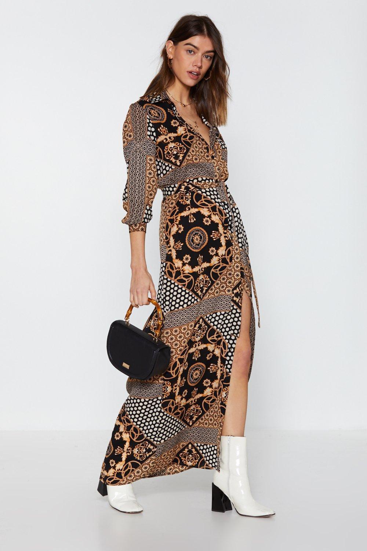 Genoeg Mixed Signals Maxi Shirt Dress | Shop Clothes at Nasty Gal! @KI93