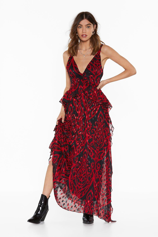 eb9c6ac05d747 Grand Entrance Jacquard Maxi Dress | Shop Clothes at Nasty Gal!