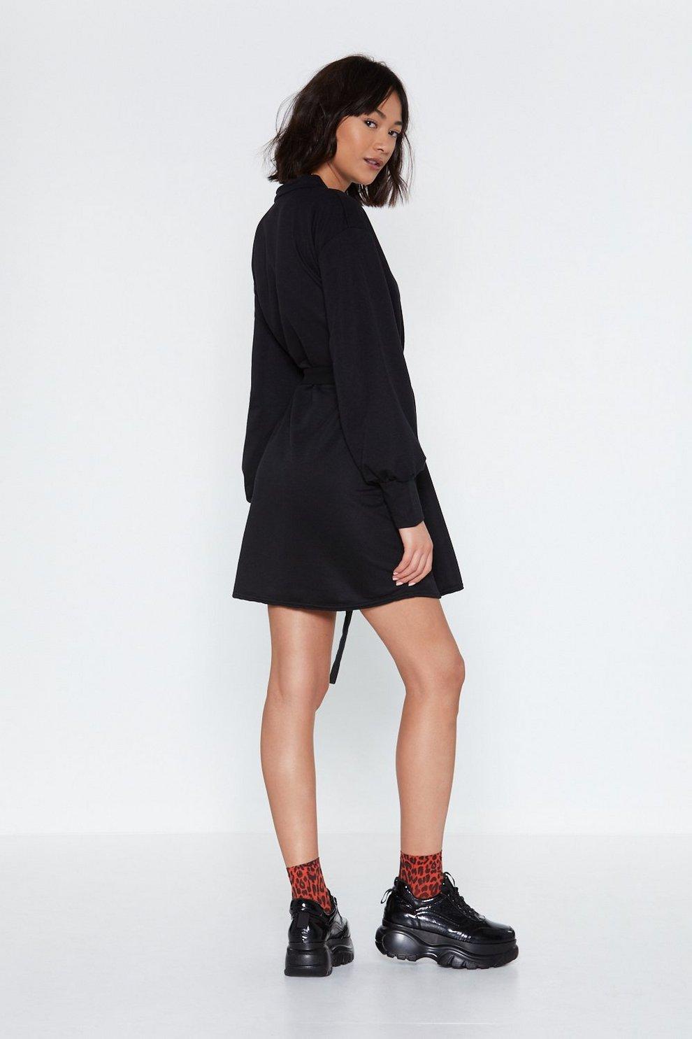 314a6c73d40 Fasten Your Seat-Belts Sweater Dress