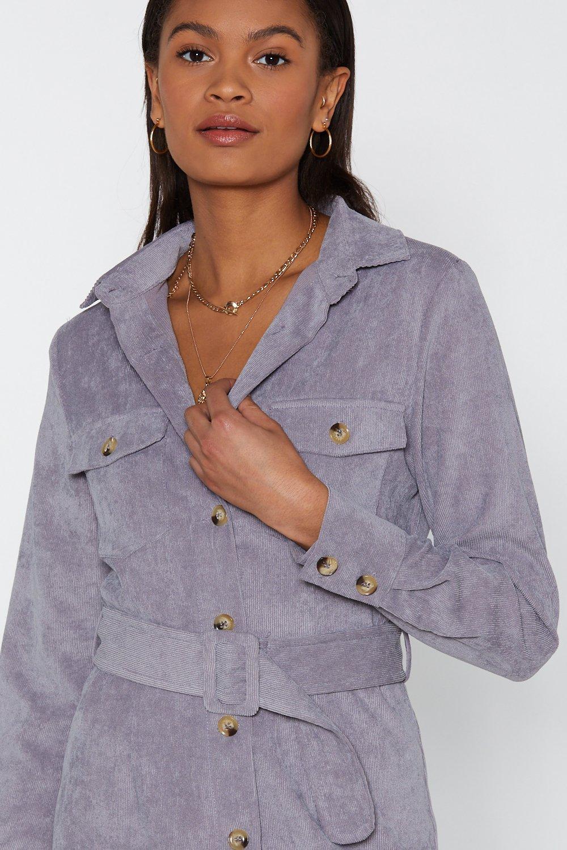 39f5211dfe Shirt Attention Span Corduroy Shirt Dress