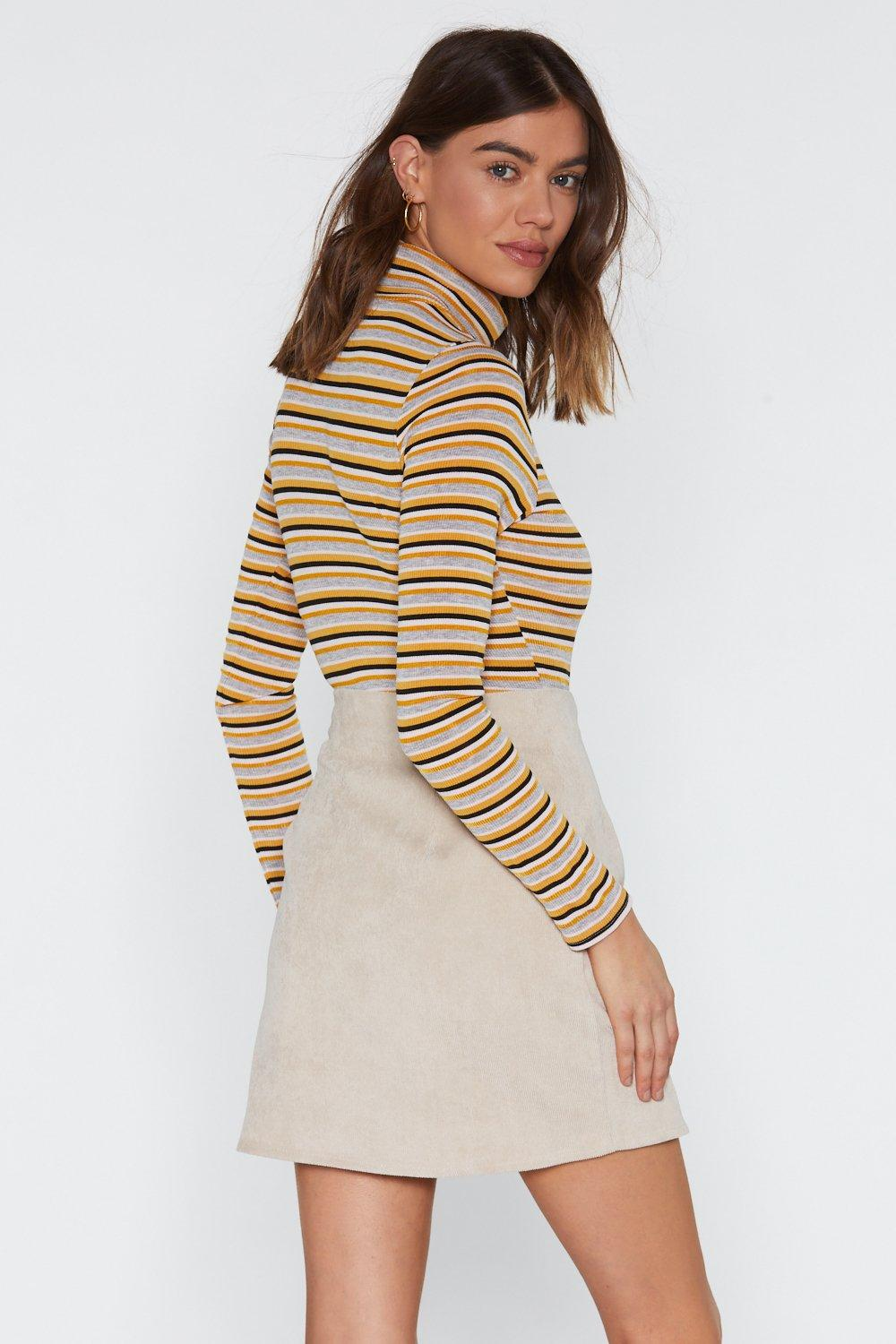 e38aaead6 Need Some Closure Button Corduroy Mini Skirt   Shop Clothes at Nasty ...