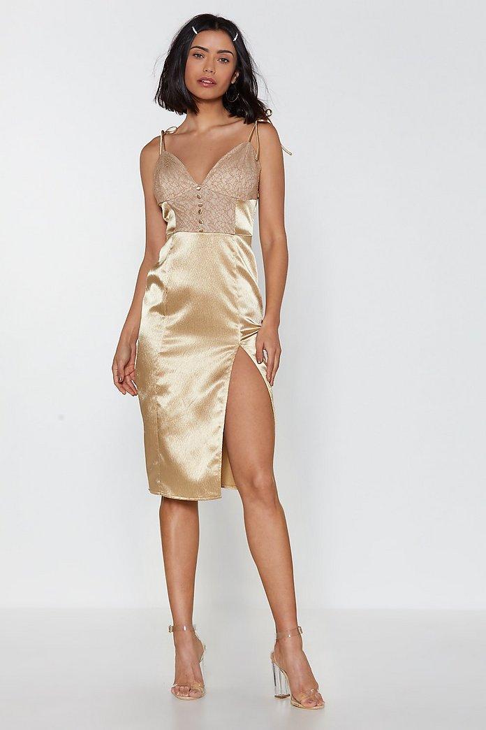 picked up best online best cheap Let It Slip Lace Slip Dress | Nasty Gal