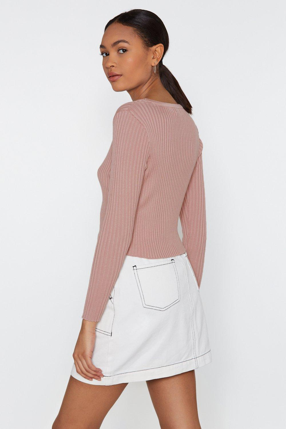 6aee6517803 No Chills Cropped Button-Down Cardigan   Shop Clothes at Nasty Gal!