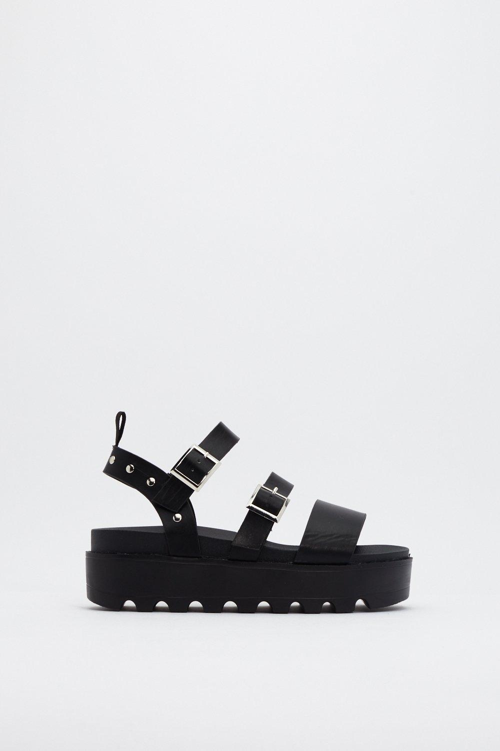 9f7efefc2 Stud Things Come Cleated Platform Sandals | Shop Clothes at Nasty Gal!