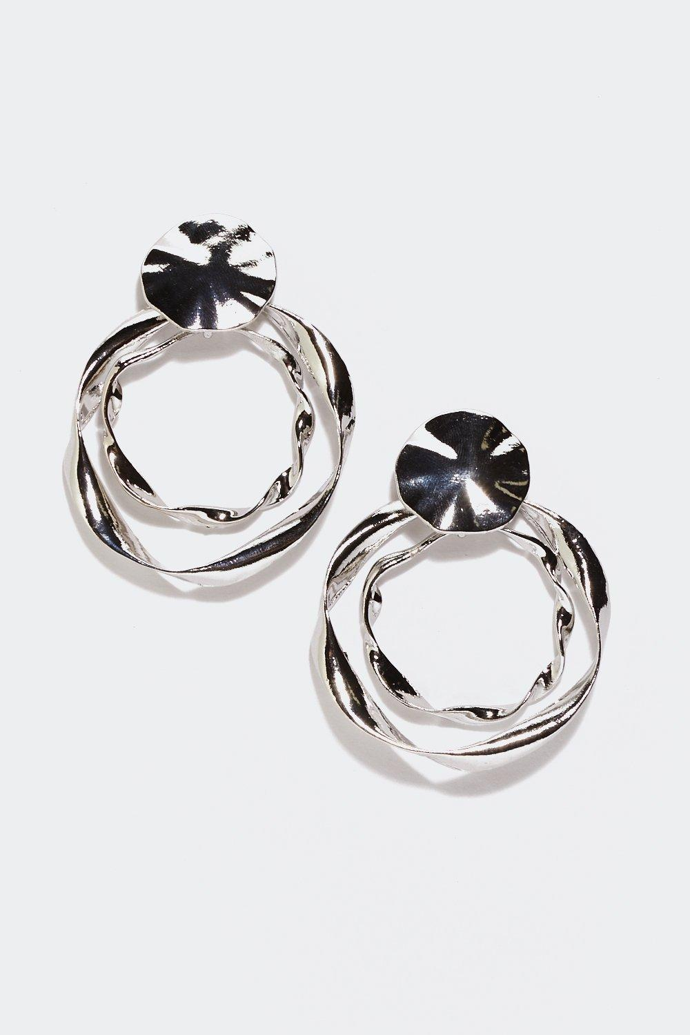 ef958ef76 Here's the Twist Circle Earrings | Shop Clothes at Nasty Gal!