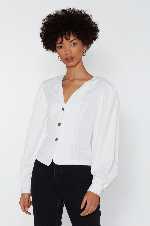 75cdee7b Prince Charming Corduroy Puff Sleeve Shirt | Shop Clothes at Nasty Gal!