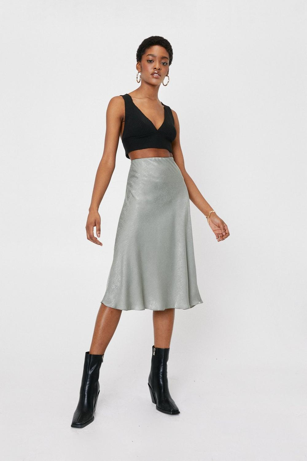 6d4146b16f Touch By Touch Satin Midi Skirt | Shop Clothes at Nasty Gal!