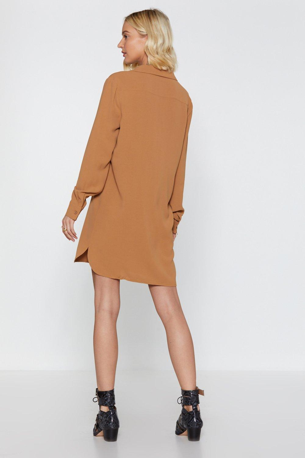 Take The Shirt Cut Linen Shirt Dress Shop Clothes At Nasty Gal