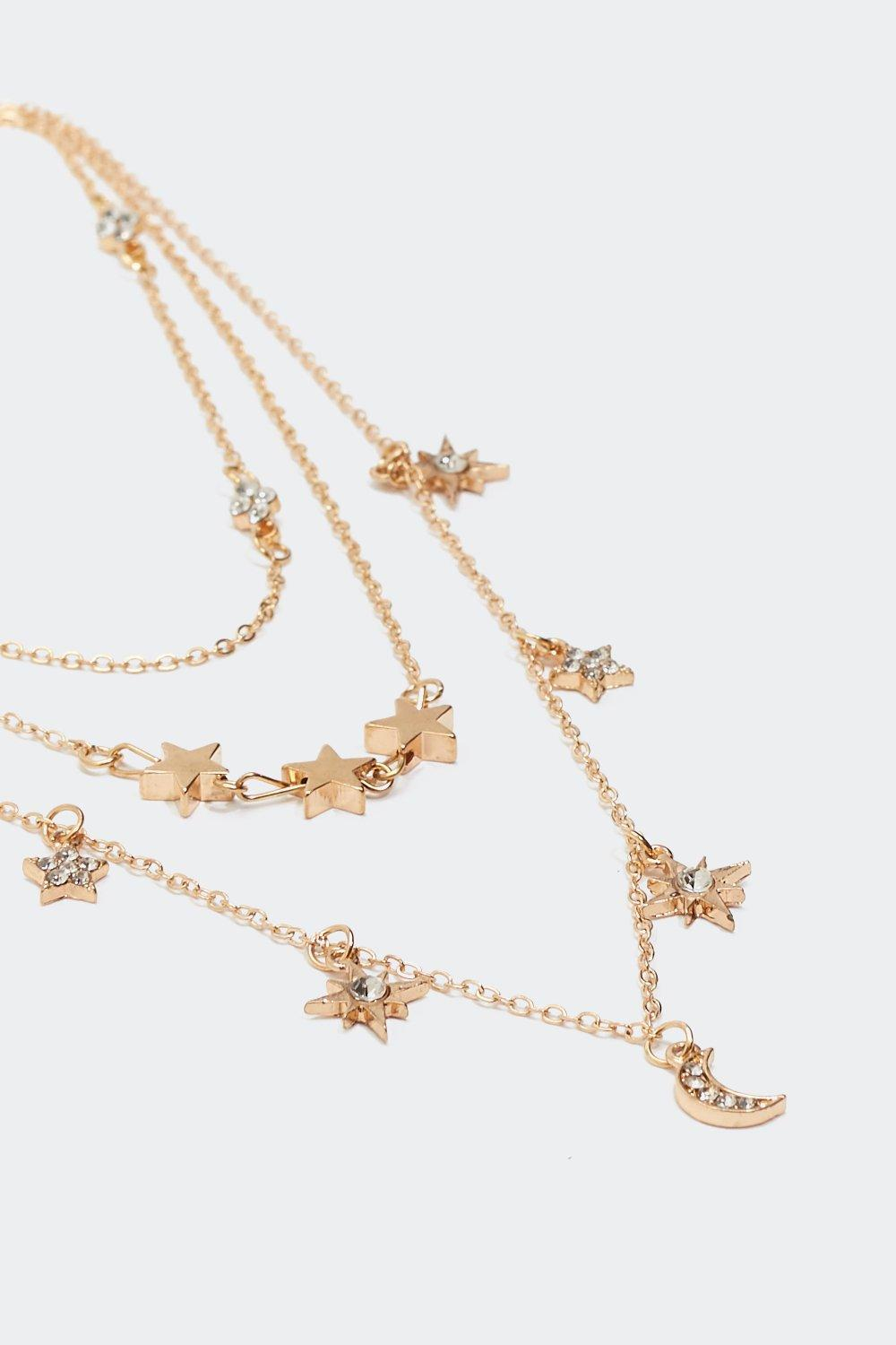 Dainty Multi Star Layered Necklace | Shop Clothes at Nasty Gal!