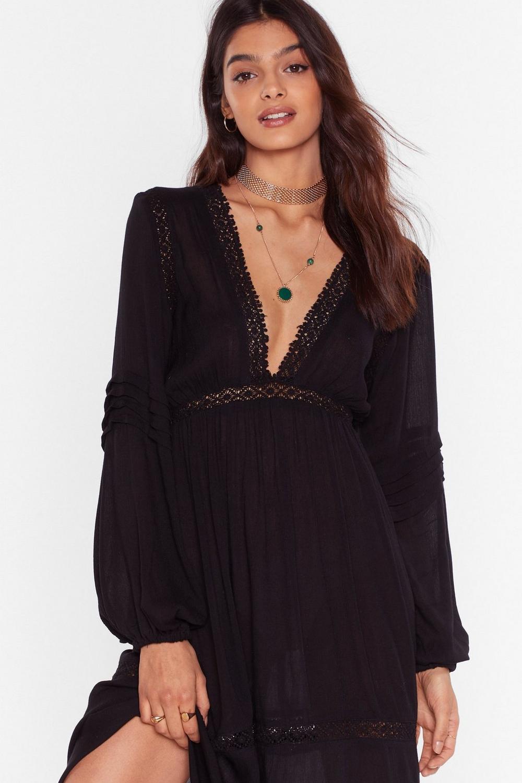 Maxi-mum Effort Lace Trim Dress  fdc1a7cef