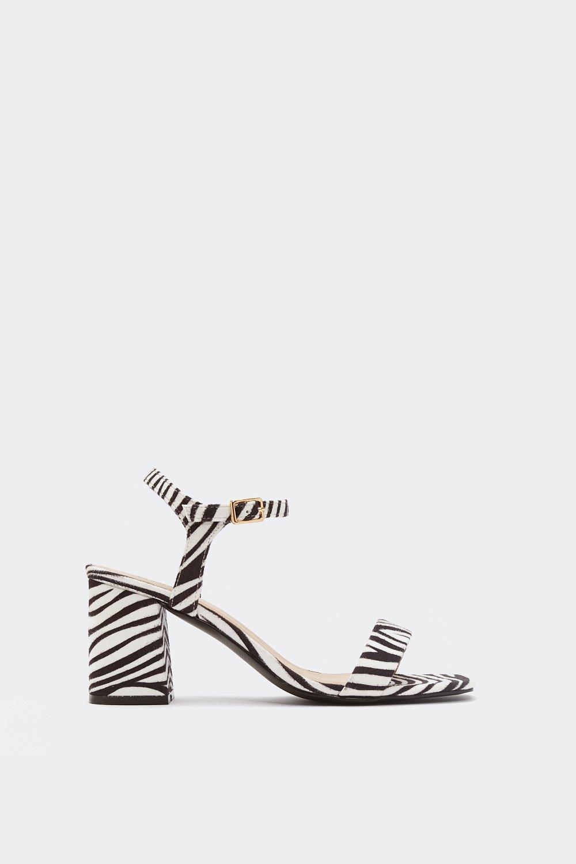 1100ccfd9f2 Hunt  Em Down Zebra Heels