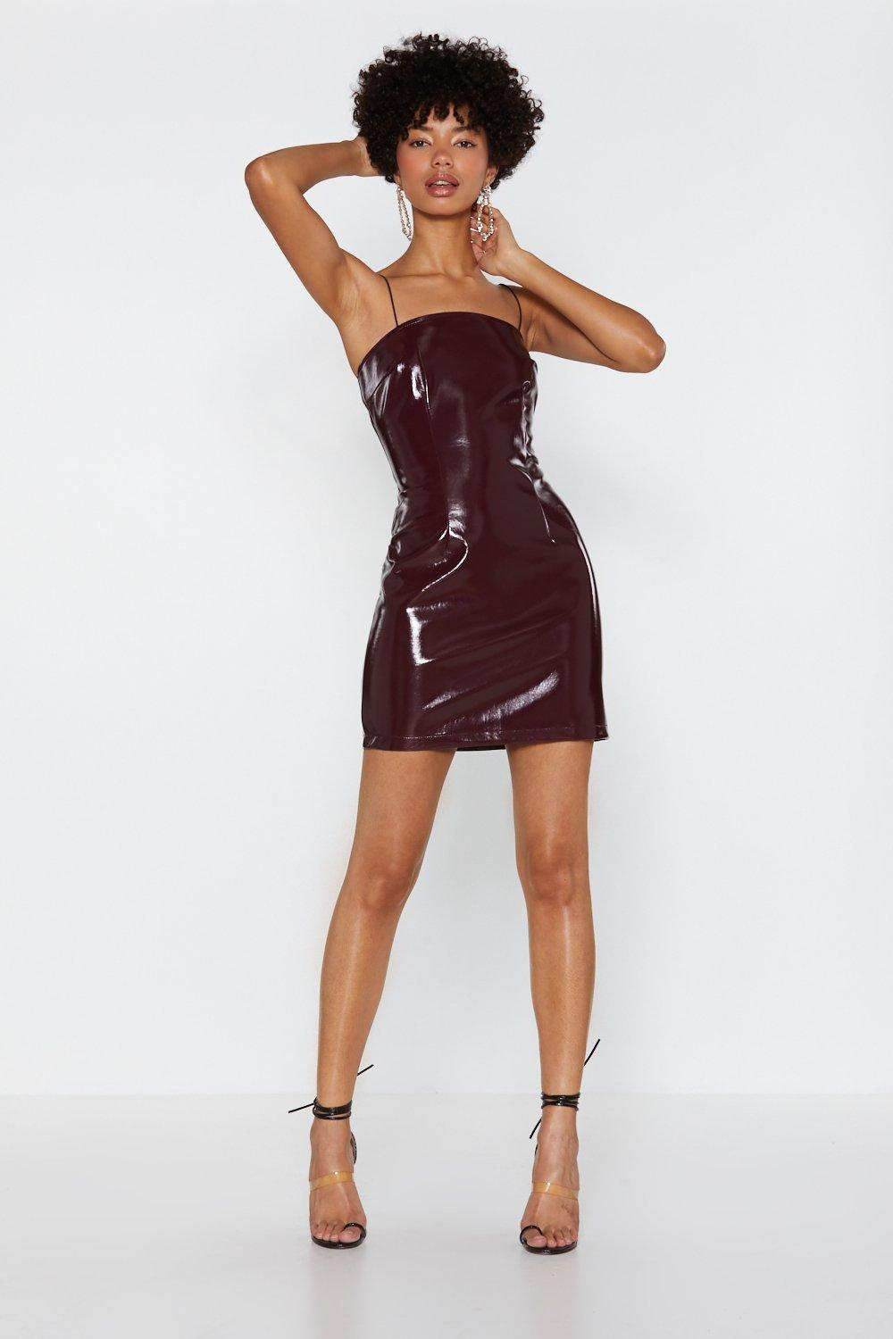 883488bd16 Reflect on It Vinyl Mini Dress | Shop Clothes at Nasty Gal!