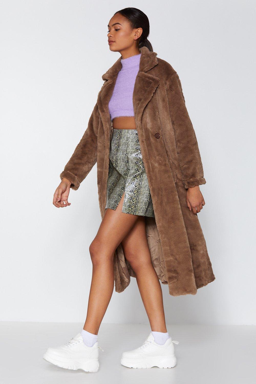 ecd3e2cdf Go Long Faux Fur Coat | Shop Clothes at Nasty Gal!