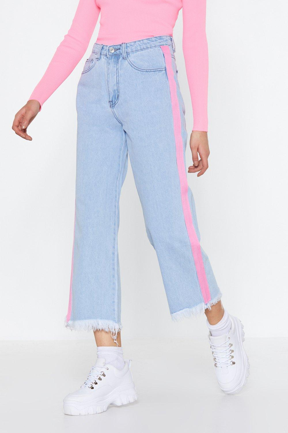 c17309ebb3 Jean court Bande Latérale | Shop Clothes at Nasty Gal!