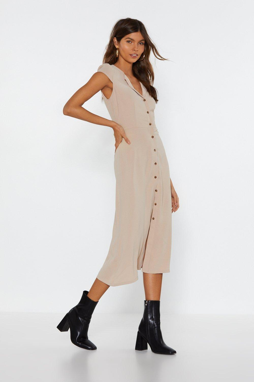 9cd6fe72b652 Button Down Midi Dress | Shop Clothes at Nasty Gal!