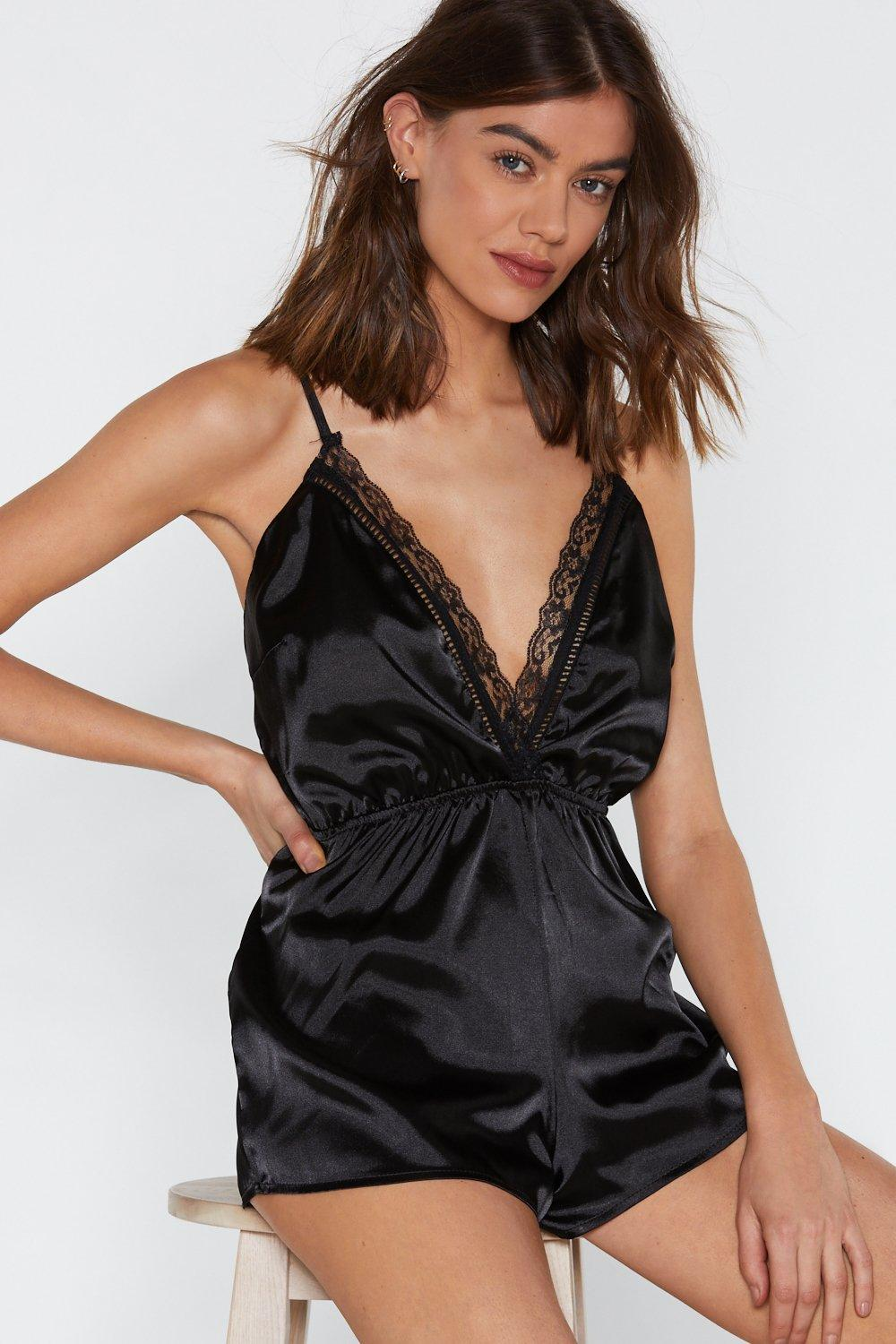 50502ae1e97a3 Dim All the Lights Lace Teddy | Shop Clothes at Nasty Gal!