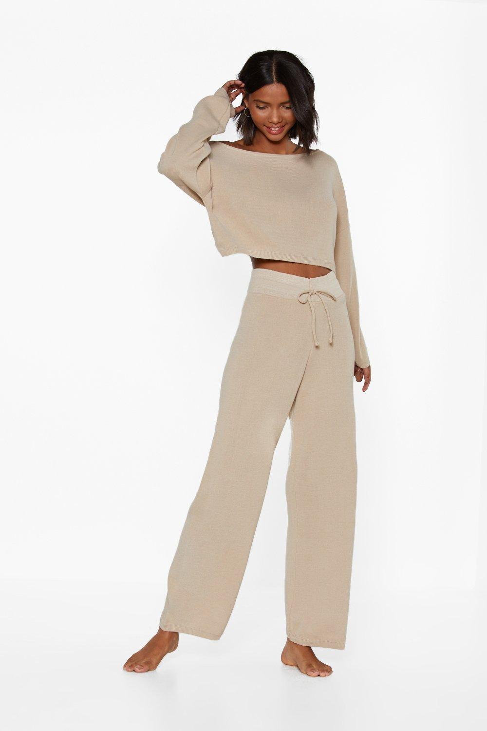 37cd86698cfd7 Slow Down Sweater and Joggers Lounge Set | Shop Clothes at Nasty Gal!