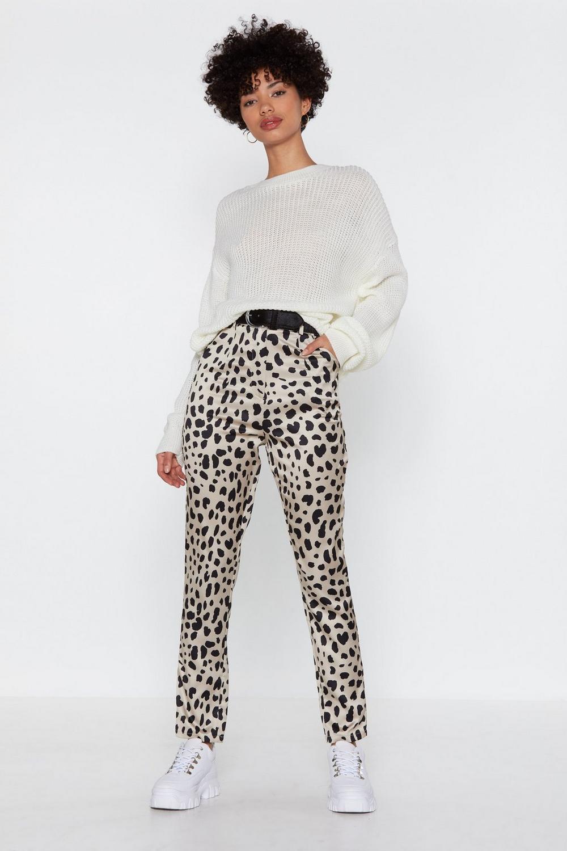 02dd79f07b4f1 Don't Spot Tapered Dalmatian Pants | Shop Clothes at Nasty Gal!